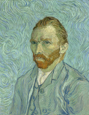 Medium 740px vincent van gogh   self portrait   google art project