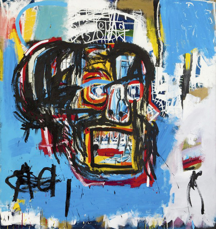 Large basquiataa