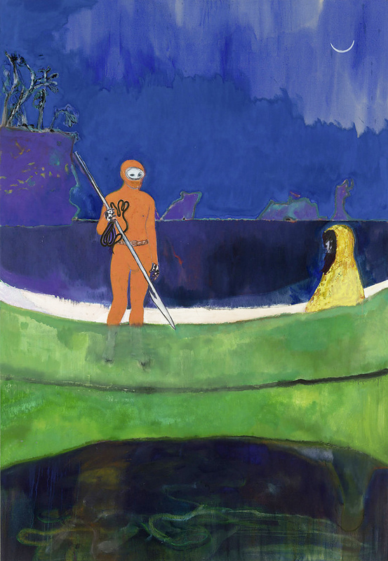 Large peter doig   spearfishing  aa